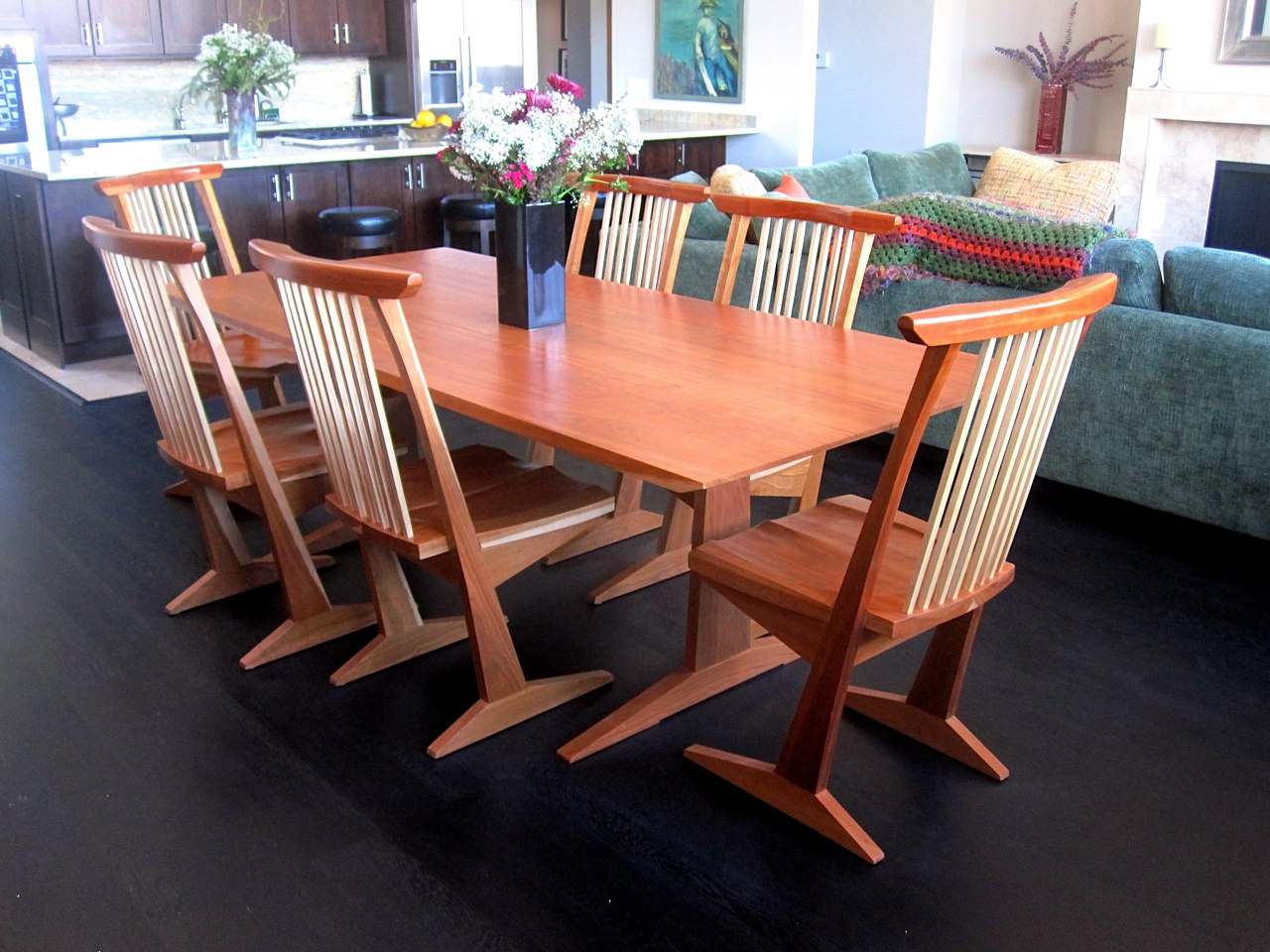 Handcrafted Dining Room Tables  Bracko Interiors Calgary