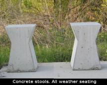 concrete_stools